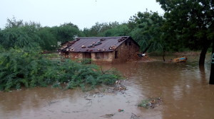 Homes in Malawi have been destroyed by the floods. © Photos Courtesy of Vincent Masopera Gondwe.