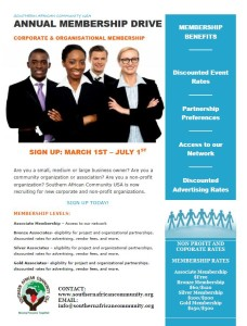 Membership Recruitment Flyer 2015