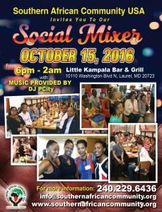 Southern African Social Mixer